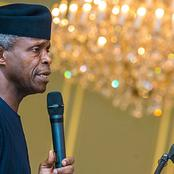 EndSARS: People reactions to Osinbajo's word on victims rights that have been breached by SARS.