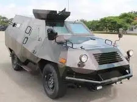 See the Nigerian indigenous military vehicle that has an Igbo name.