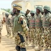 See alleged salary structure of the Nigeria Army