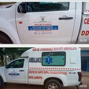 Lakota: des ambulances de lutte contre le Covid(Banque mondiale) faits dons propres du candidat RHDP