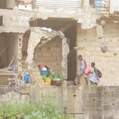 Cocody-Angrès : des élèves qui habitent avec leur mère célibataire dans un immeuble en ruine