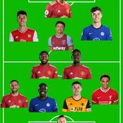 Manchester United Dominate EPL Week 31 Team of the Week
