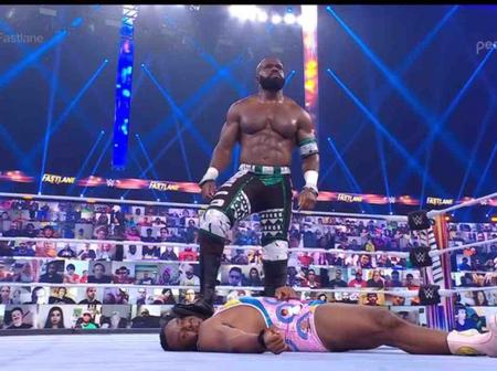 Nigerian wrestler is set to face big E in a Nigerian Drum fight at Wrestlemania