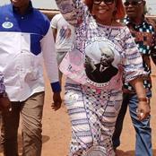 Campagne législatives : Marie-Odette Lorougnon tout feu tout flamme à Gagnoa