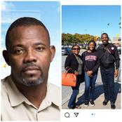 Okey Bakassi Shows Off His Wife and Daughter, Calls Them