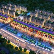 Ghana international mall in progress.