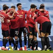 After Man United Beat Man City 2-0, Checkout Their New Position and Points on The League Table