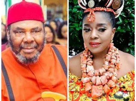 Veteran Actor, Pete Edochie Is Not Married To Actress, Rita Edochie, See The Relationship They Share