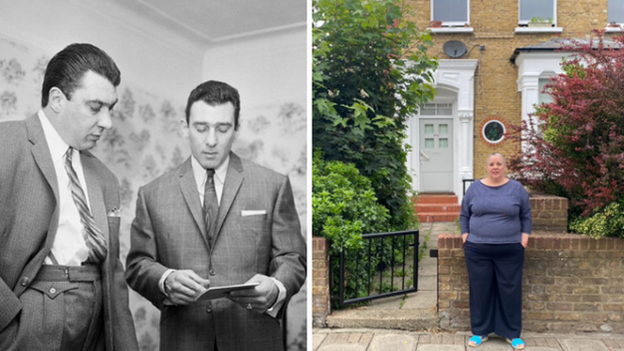 Life on the London street 'stuck in time' after a grizzly Kray twins murder caused property prices to 'spiral'
