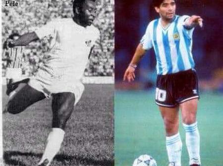 Qui de Pelé et de Maradona est le plus fort ? Voici les statistiques qui clarifient tout