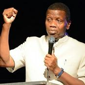 His Boat Was About To Capsize But Unseen Hand Steadied It-Pastor Adeboye Shared What Saved A Man