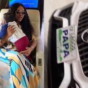 See The Expensive Customized Benz Car Chioma Bought For Ifeanyi As He Clocks One [Photos].