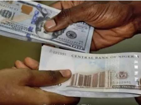 Dollar To Naira Rate Is No Longer N500 In Black Market. See The New Price Here.