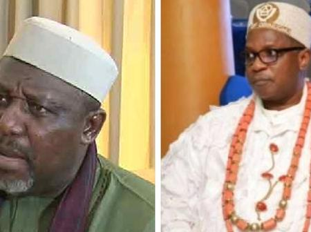 Ugly drama averted as Igbo King deposed by a former Governor met face to face, and this happened
