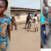 People React As 16-Year-Old Girl Is Beaten For 5th Pregnancy By A Man Accommodated In Husband's Home