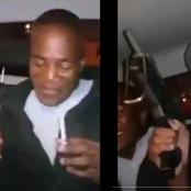 KZN gangsters took a live video bragging about guns in a car. Fearful situation for Mzansi.