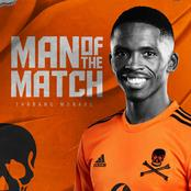 Orlando Pirates to take on Bloemfontein Celtics without the services of Midfielder Thabang Monare.