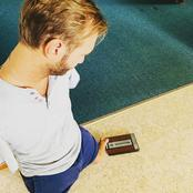 Meet The Preacher Without Both Hands And Legs! Look At How He Operates His Phone [Photos]
