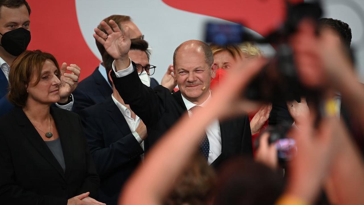 Elections en Allemagne : les sociaux-démocrates menés par Olaf Scholz devancent les conservateurs du CDU