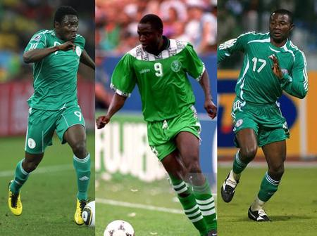 Four Footballers That Should Have Broken Rashidi Yekini's Record in the Super Eagles