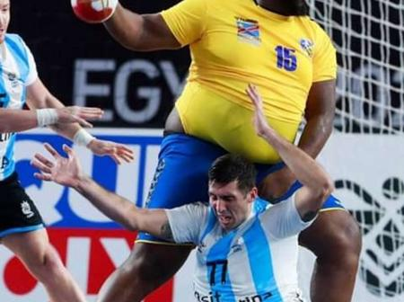 Gauthier Mvumbi : qui est le géant du handball congolais à qui Shaquille O'Neal a envoyé un message?