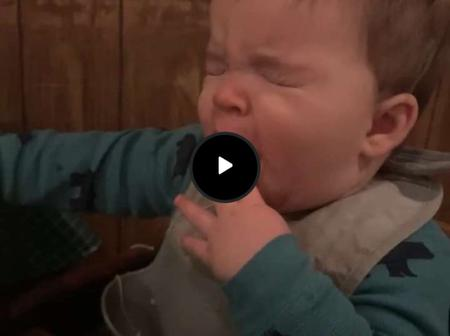 Video: See This Baby's Reaction After Tasting A Lemon For The First Time