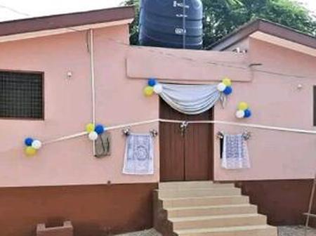 B/R: Kyeremansu 'AB' Gets First Public Toilet Since 20 Years Ago