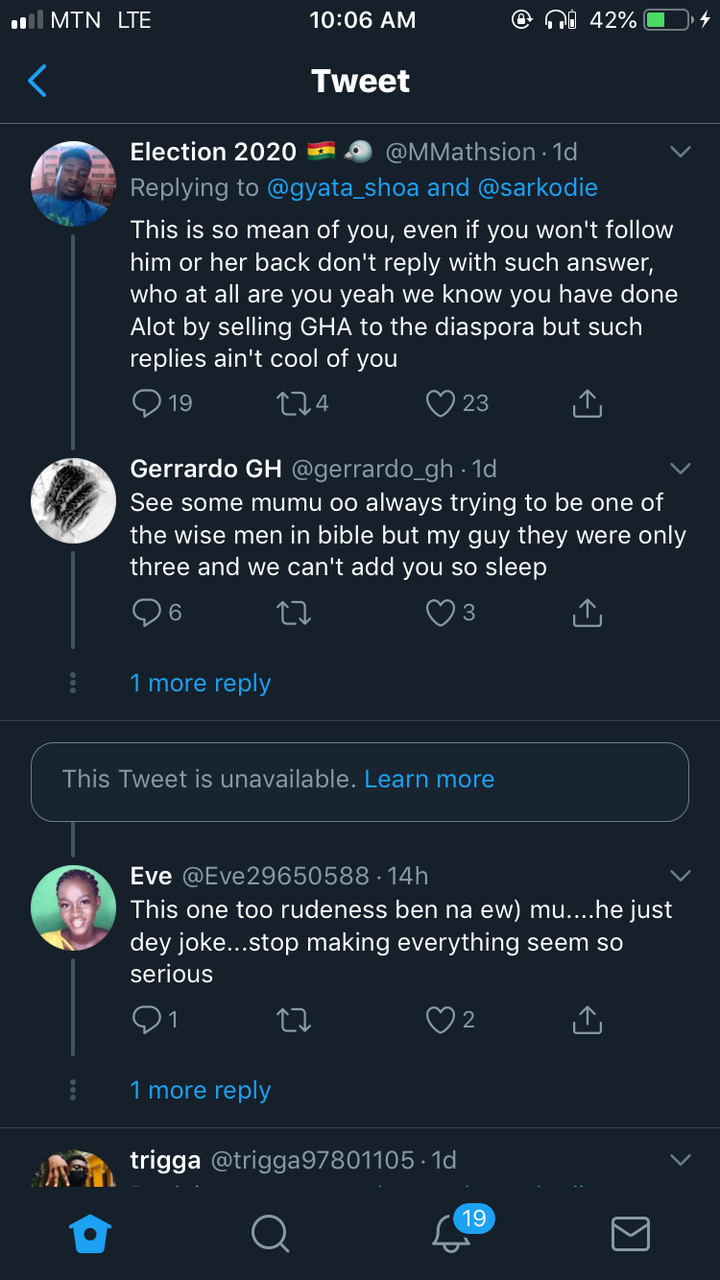 6c9b4b1d0ccec073d1443d665d3d8b7b?quality=uhq&resize=720 - Sarkodie Went Too Far With His Response To A Fan Who Begged Him To Follow Her On Twitter