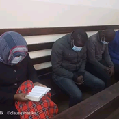 Suspect in the homicide of money manager Caroline Wanjiku reads Bible in court