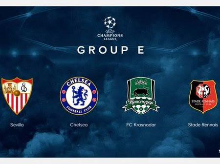 Official: See the confirmed dates and fixtures for Chelsea in the Champions League