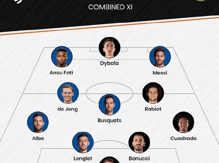 'Cristiano Ronaldo Out, Lionel Messi In' - Barcelona And Juventus Combined Xi For Each Position