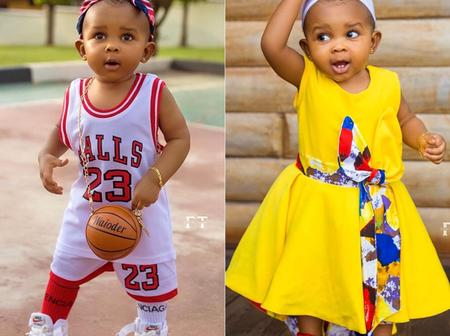Top 10 Photos Of Simona Strong That Proves That She Is The Most Fashionable Kid In Ghana (Photos)