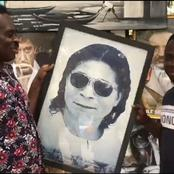 Yaw Sarpong reveals the POWER in Apostle Safo's Picture as he Stops on the Roadside to buy his Pic
