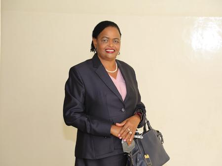 Lady Justice Martha Koome On The Bench, Third Day Of Chief Justice Interviews.