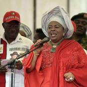 At Least Patience Jonathan Spoke Up & People Laughed At Her, Where Is Aisha Buhari?- Dr Dipo Asks