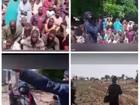 Reactions as Bandits Releases Videos of Nigerian Citizens In Their Custody