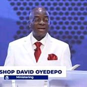 Bishop Oyedepo: When Stealing Becomes A Lifestyle, All Covenant Practices Becomes Futile.