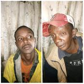 Two Notorious Gangsters Nabbed By an Angry Mob In Dandora After a Botched robbery