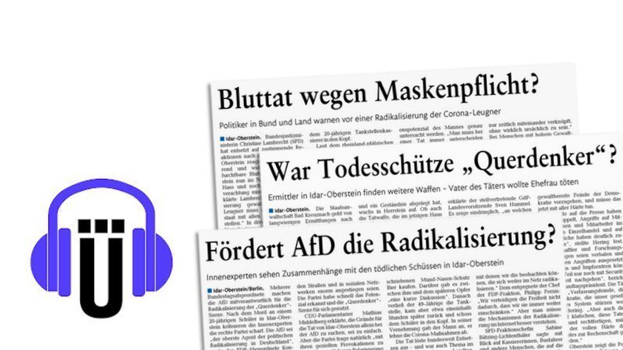 Wie sollten Medien über die Tat in Idar-Oberstein berichten?
