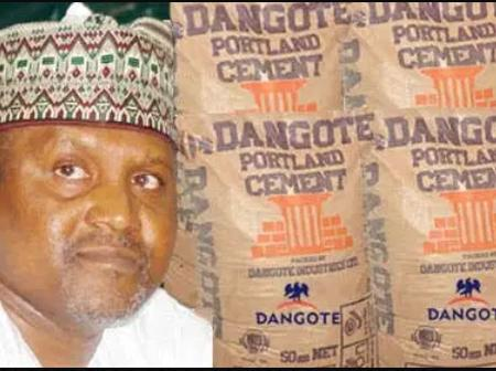 Our Cement Price Is Lower In Nigeria Than Other Countries; Says Dangote