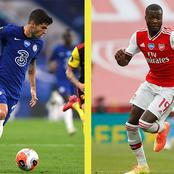 EPL: This Season's Statistics Show Nicholas Pepe Is Better Than Christian Pulusic
