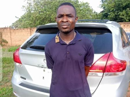 Car washer who ran away with customer's car caught