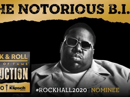 Black And Ugly As Ever However, The Notorious B.I.G Makes 2020 Hall Of Fame