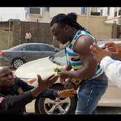 Staged Video: Jigan Attacked Slimcase With A Broken Bottle But Later Surrendered
