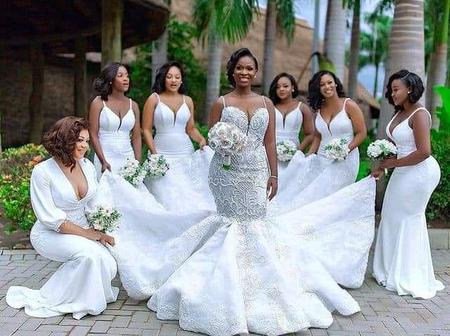 Are you about to get married? Check out these latest and one in town bridesmaid styles 2021