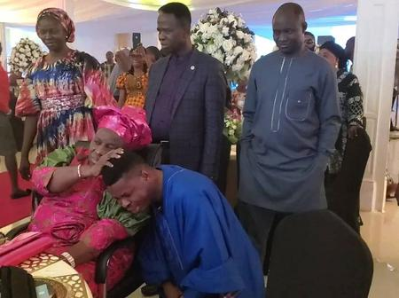 Fans React As Mummy Adeboye Lay Hands On Wolii Agba