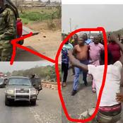 Sunday Igboho Attempted Arrest By DSS Stoped (Photos And Video)