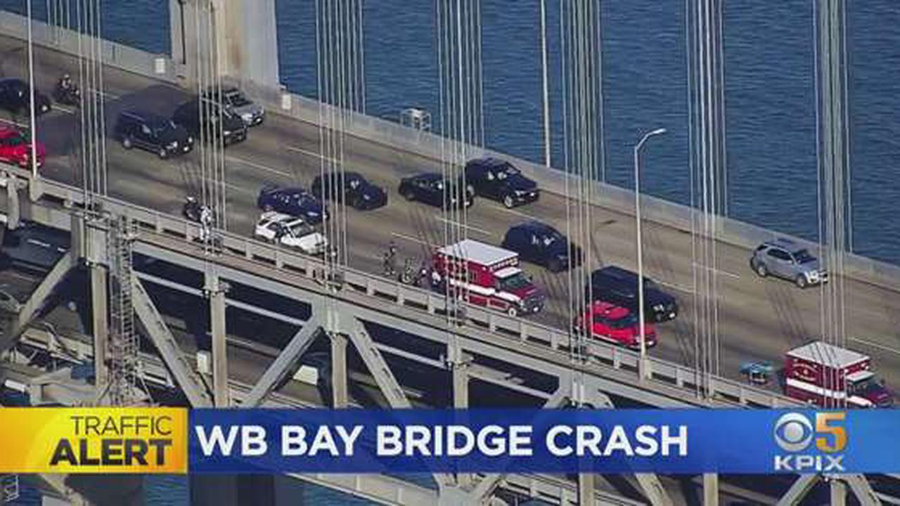 Multi-Car Crash Blocks 4 Lanes On Bay Bridge