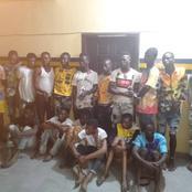 Lagos Police Arrest 17 Suspected Armed Robbers Terrorizing Lekki Area