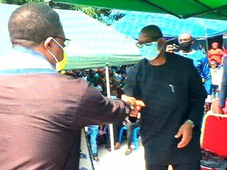Update: Governor Obiano Participates In Christ The King Celebration With Former Governor Peter Obi.